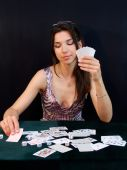 Gambler Playing