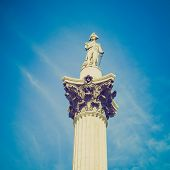 Vintage Look Nelson Column London