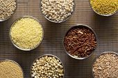 Eight Different Kinds Of Grains