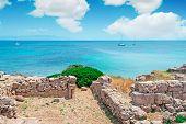 Ruins And Boats