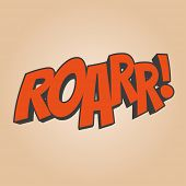 roar cartoon sound
