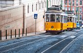 Electrico 28, Yellow Tram, Lisbon, Portugal