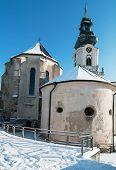 Nitra Castle In Winter