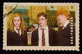 UNITED STATES - CIRCA 2013: postage stamp printed in USA showing an image of Hermione Granger, Harry
