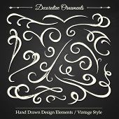 Decorative Ornaments - Chalkboard 4