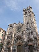 St Lawrence Cathedral In Genoa