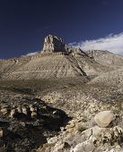 stock photo of guadalupe  - Guadalupe Mountains National Park is located in West Texas - JPG
