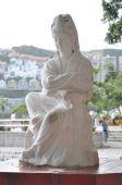 Guan Yin mármol tallada