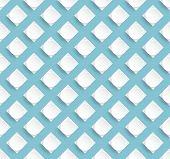 Stylish Pattern Design With Turquoise Background