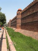 Wall Of Red Fort