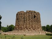 Brick Minaret Alai Minar