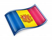Andorra Flag Icon.