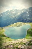 Lake In Alps