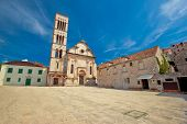 Pjaca Square In Town Of Hvar