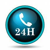 24H Phone Icon