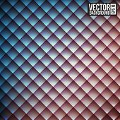 Rhombus  pattern. Rerto style background