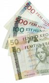 Swedish currency (Kroner)