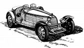 open sport car