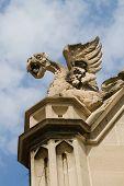 University of Chicago Stone Sculpture