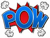 Comic Sound Effect Pow