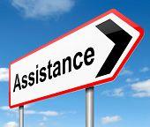 Assistance Concept.