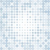 Abstract dotted blue background texture