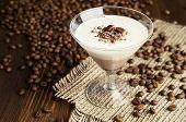 Chocolate And Vanilla Panna Cotta