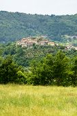 Regnano, Old Village In Tuscany
