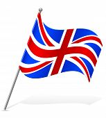 Flag Of United Kingdom Vector Illustration