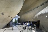Modern Hall In Museum Of History Of Polish Jews In Warsaw