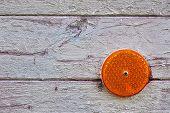 Orange Reflex Reflector