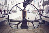 Sailing Yacht Steering Wheels
