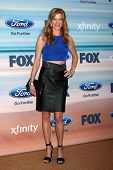 LOS ANGELES - SEP 8:  Anna Gunn at the 2014 FOX Fall Eco-Casino at The Bungalow on September 8, 2014 in Santa Monica, CA