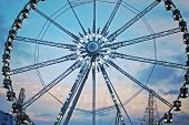 Grande roue à Paris sur les Champs Elysées