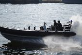 Military speed boat