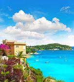 Mediterranean Beach Landscape, French Riviera, Provence