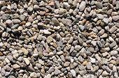 Small Colorful Boulders Closeup