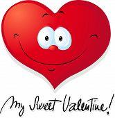 Valentine Heart - Vector Illustration