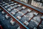 Station Train Tracks