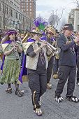 Mardi Gras Parade Band