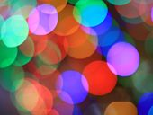 Festive multicolored background with boke effect