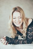 Laughing Blond