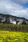 Inland Gran Canaria, View Towards Historical Town Teror