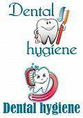 Dental hygiene logo