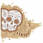 Engraving gemini