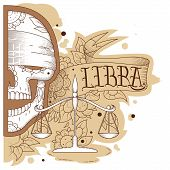 Engraving libra