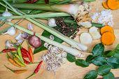 image of thai food  - Ingredients Thai Food  - JPG
