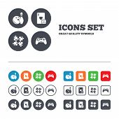 picture of video game controller  - Bowling and Casino icons - JPG