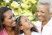 stock photo of 70-year-old  - African American Grandmother - JPG