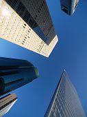 Rascacielos de Shiodome, Tokio, Japón